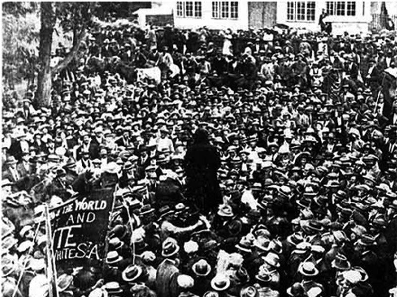 White riot, classe et race en Afrique du Sud, 1922